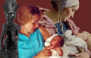 Mother SoulCollage Card